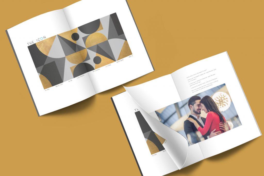The Icon Brochure Design